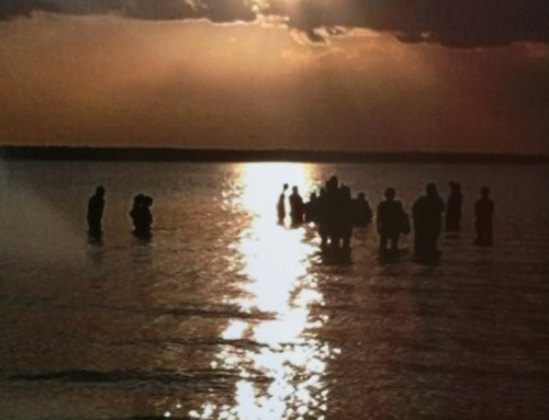God Speaks on Lake Texoma